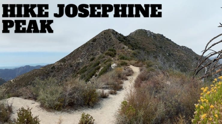 Hike Josephine Peak From Colby Canyon