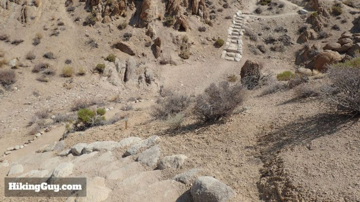 stone stairs