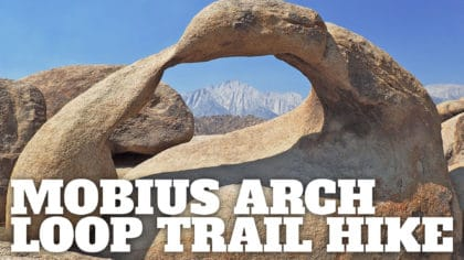 Hike the Mobius Arch Loop Trail