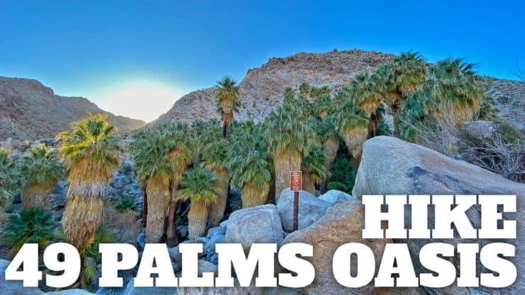 Hike the 49 Palms Oasis Trail