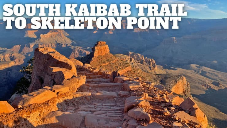 Hike the South Kaibab Trail to Skeleton Point