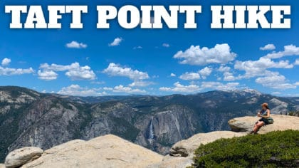 Hike the Taft Point Overlook and Fissures