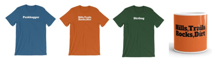 Hiking T Shirt Store Products
