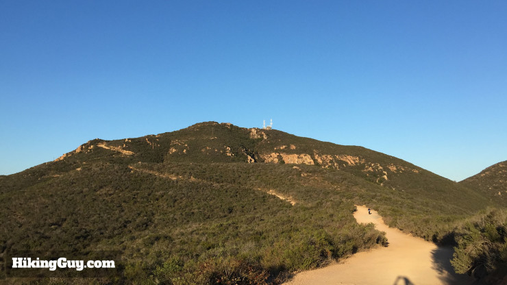Cowles Mountain hike trail