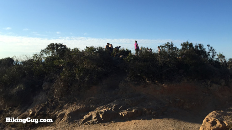 Cowles Mountain hike summit