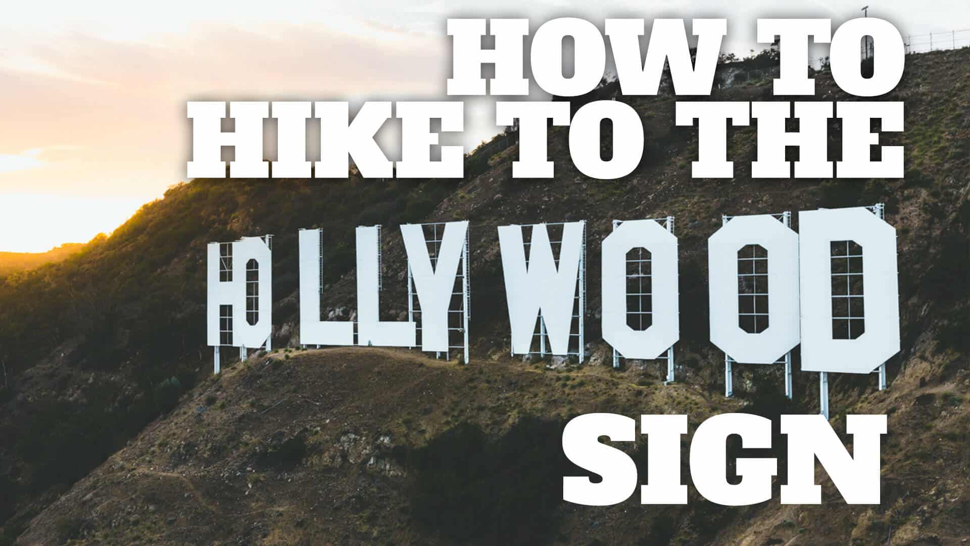 The Easy Hollywood Sign Hike
