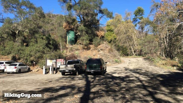 holy jim falls trail parking