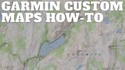 How to Create and Download Garmin Custom Maps