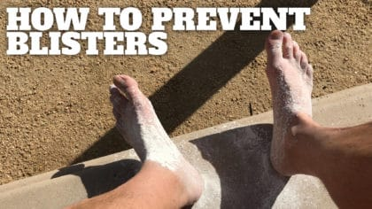 How To Prevent Hiking Blisters