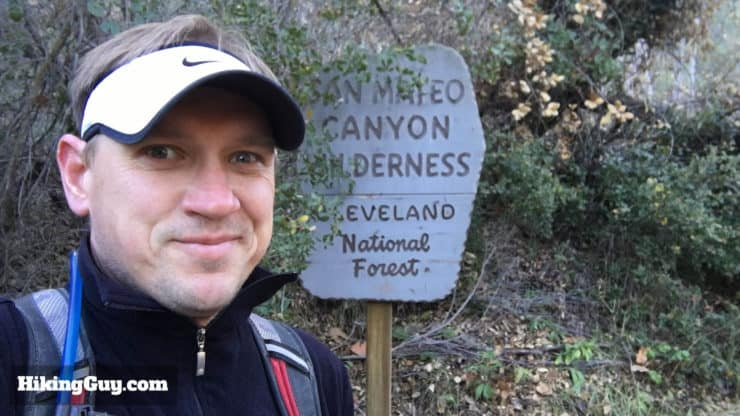 ign for the San Mateo Canyon Wilderness