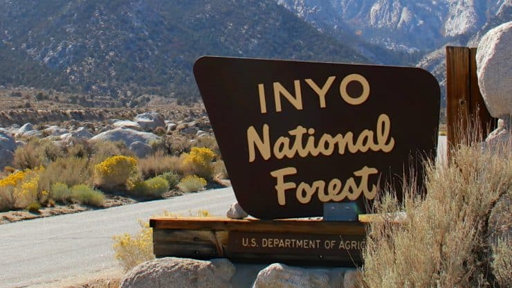 Inyo National Forest Hiking Trails