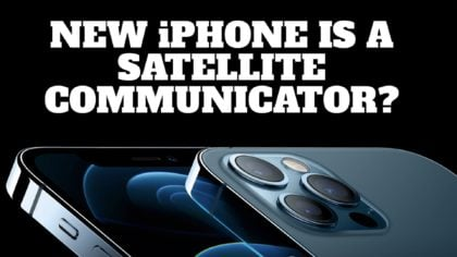 Will the New iPhone 13 Be a Satellite Communicator (like an inReach)?