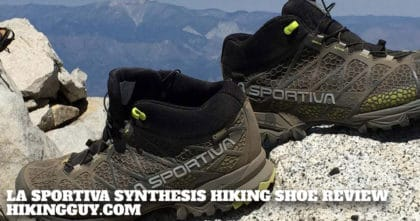 Best Hiking Shoe: La Sportiva Synthesis Review
