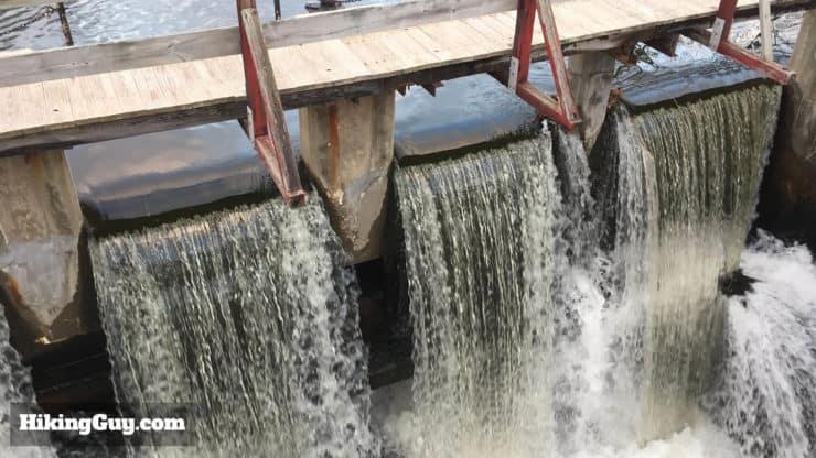 lambertville wing dam hike