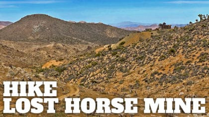 Lost Horse Mine Trail