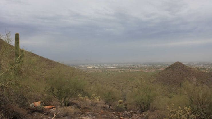 McDowell Sonoran Preserve Hike views