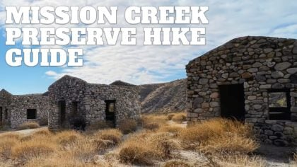 Mission Creek Preserve Hike