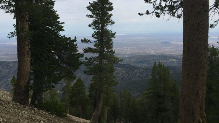 Mount Baden-Powell Hike views