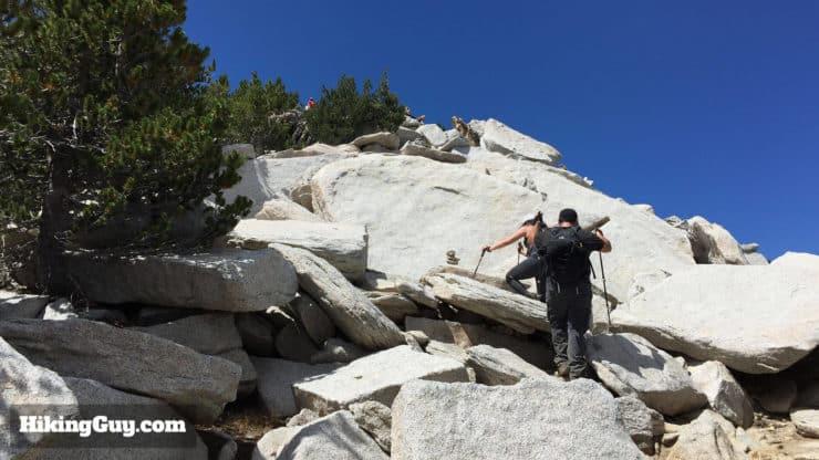 Mount San Jacinto Hike boulders