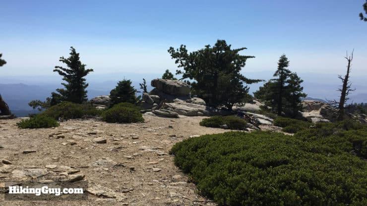 Mount San Jacinto Hike camping area