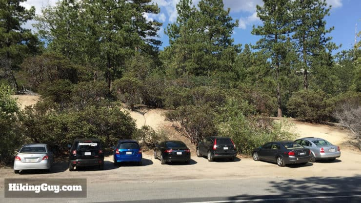 Mount San Jacinto Hike parking