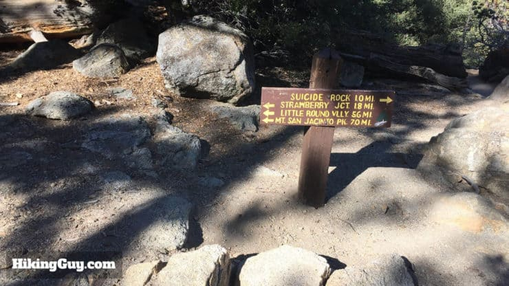Mount San Jacinto Hike side trail