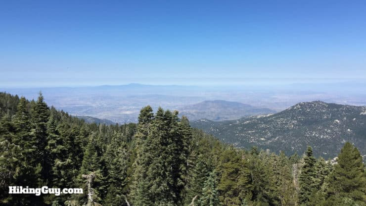 Mount San Jacinto Hike views