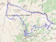 Mt Baldy Hike Topo Map