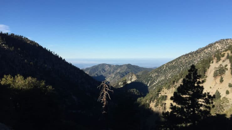 mt baldy hike views