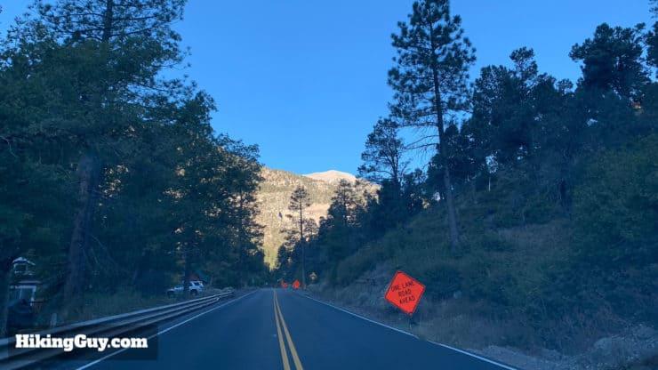 Mt Charleston Peak Hike - South Loop Trail (2019