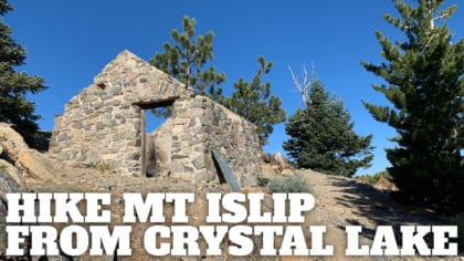Hike Mt Islip From Crystal Lake