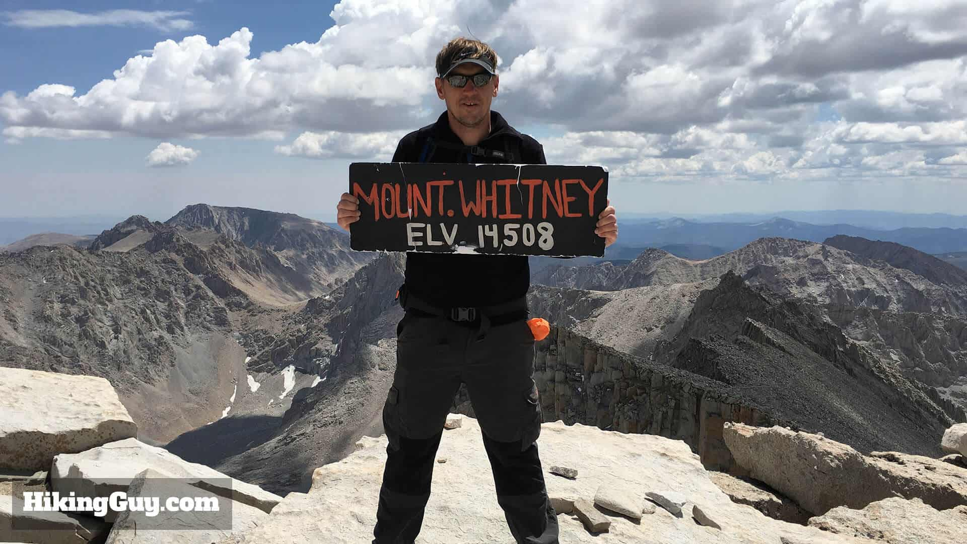 Where Is Mount Whitney On The California Map.Mt Whitney Hike Hikingguy Com