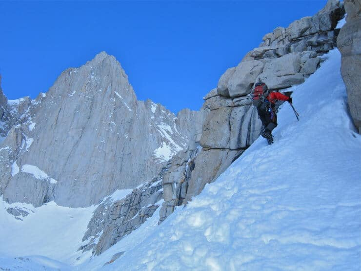 mt whitney mountaineers route