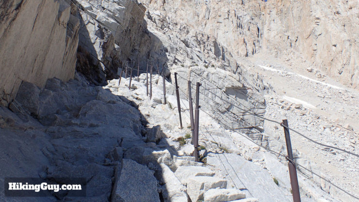 mt whitney trail cables section