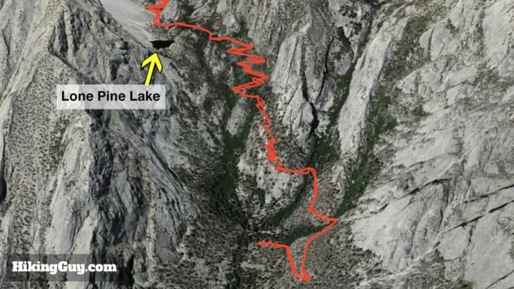 mt whitney trail map
