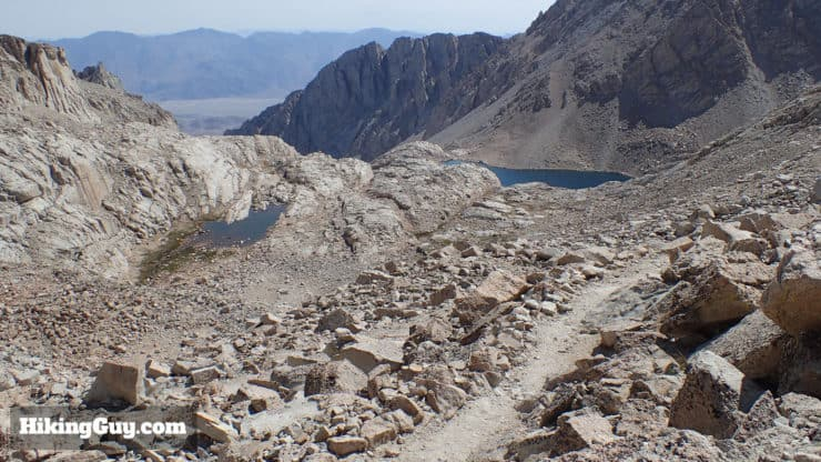 mt whitney trail switchbacks