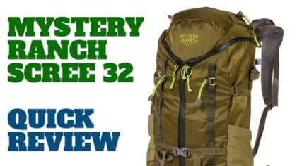 Mystery Ranch Scree 32 Review