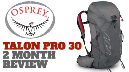 Osprey Talon Pro 30 – 2 Month Real-World Testing Review