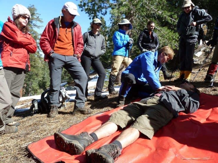 wilderness first aid class