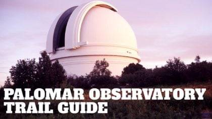 Palomar Mountain Observatory Trail