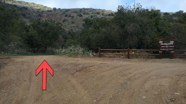 Parsons Landing trail