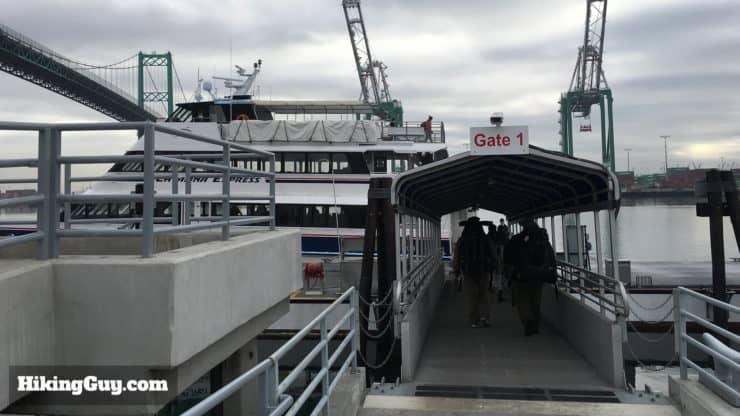 Parsons Landing ferry
