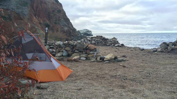 Parsons Landing campsite