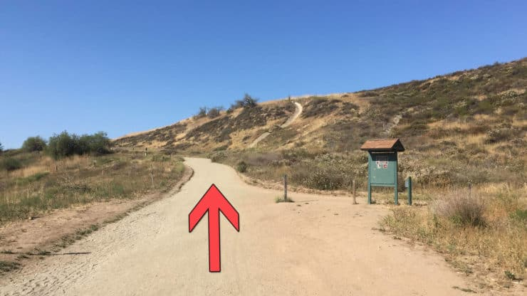 Peters Canyon Hike trail