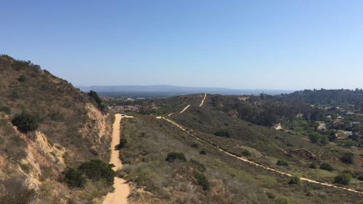 Peters Canyon Hike views