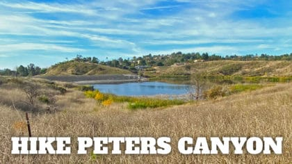 Peters Canyon Hike