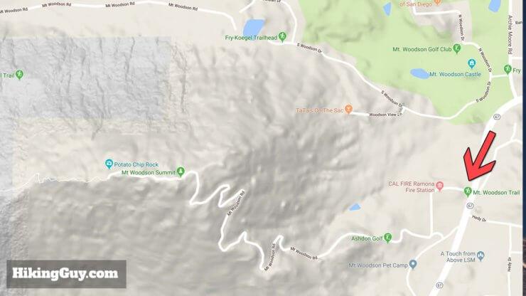 Potato Chip Rock Hike Maps 2