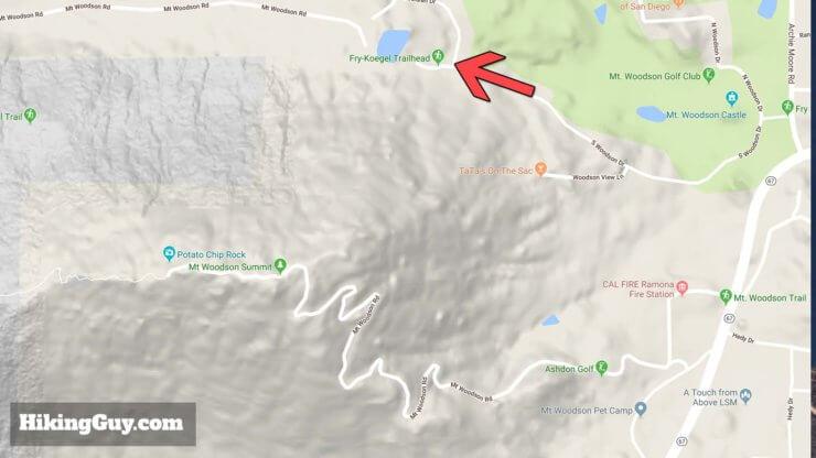 Potato Chip Rock Hike Maps 3