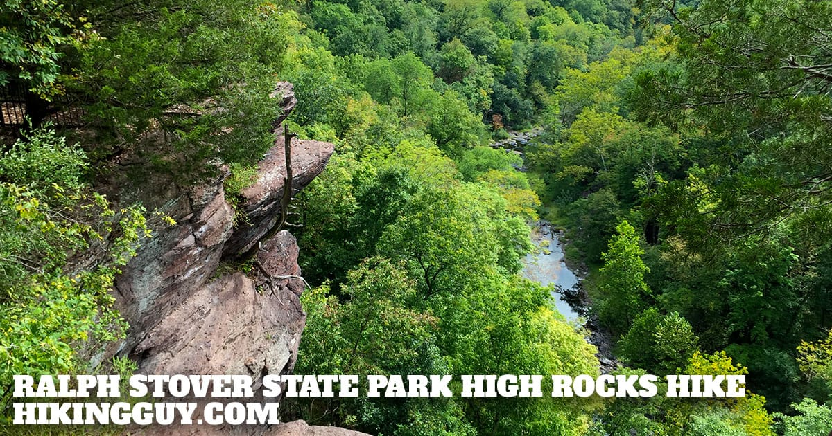 Ralph Stover State Park High Rocks Hike