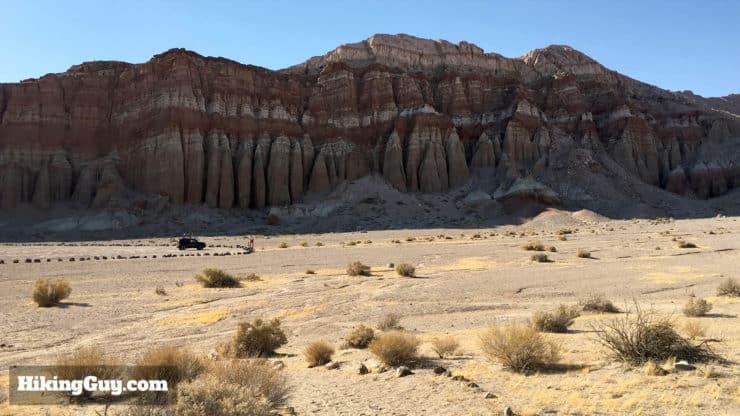 Red Cliffs Trail California